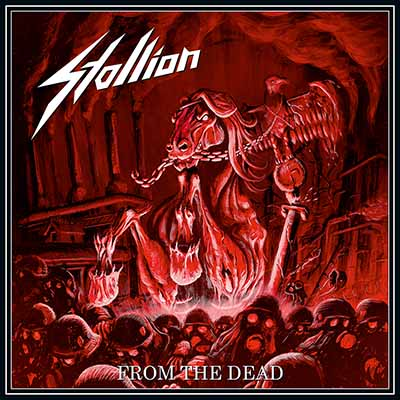 Stallion - From the Dead LP red Vinyl, Gatefold LP with Poster