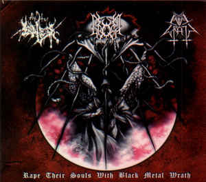 V/A  Evil Wrath / The True Endless / Gromm - Rape Their Souls With Black Metal Wrath  Digi CD