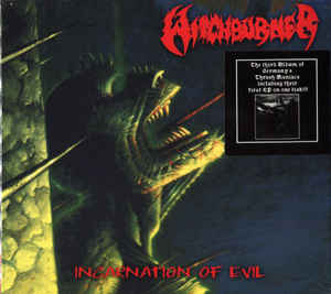 Witchburner - Incarnation Of Evil / German Thrashing War   Digi CD