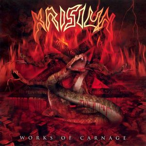 Krisiun - Works Of Carnage LP   ( Disembodied Records )