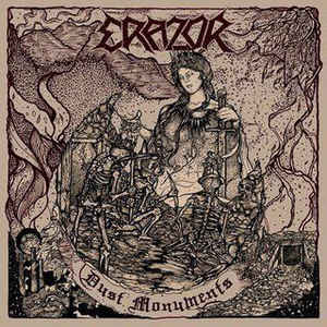 Erazor - Dust Monuments  LP  in Gold / White Vinyl + 8 Page booklet