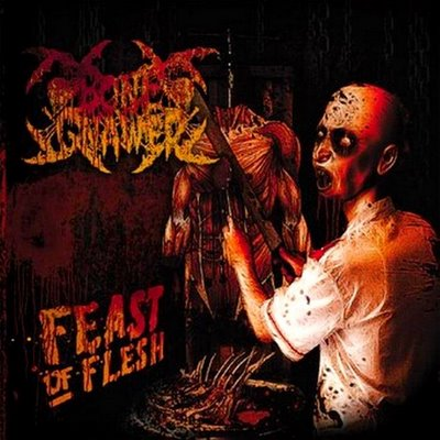 Bone Gnawer - Feast of Flesh  LP  lim. 300