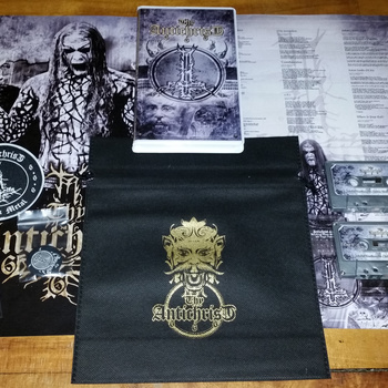 Thy Antichrist - Wicked Testimonies  Double Tape Box lim. 100  with Patch, Sticker, Poster and Pin in a exclusive bag with Bandlogo