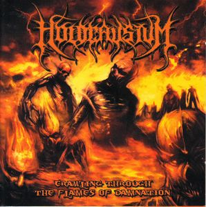 Holocaustum - Crawling Through The Flames Of Damnation   CD